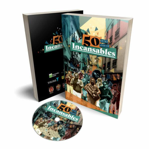 50 años de Incansables - un disco-libro sobre sus 50 años de historia
